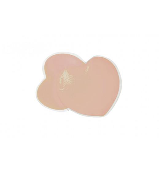 Накладки силиконовые для груди Julimex PS-05 сердце, телесный. ❤ PS-05