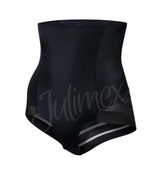 Трусики высокие корректирующие Julimex 141 черный/бежевый. ❤ 141