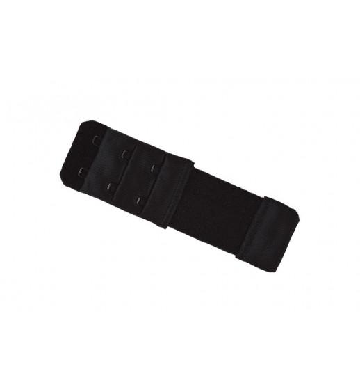 Удлинитель для бюста на 2 крючка Julimex BA-03/2 long черный. ❤ BA-03/2