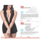 Пластырь для декольте Julimex Comfort Fashion BА 09 10мм прозрачный. ❤ BА 09