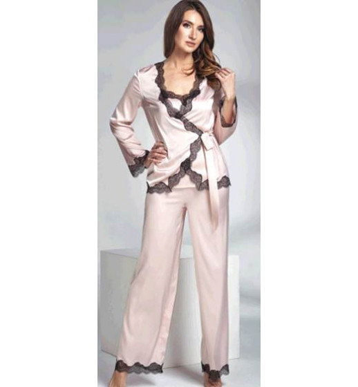 Комплект-тройка (майка+брюки+куртка) Shato 1636 атлас. ❤ 1636