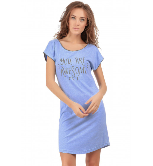 Сорочка короткая Barwa 0147 хлопок. ❤ 0147