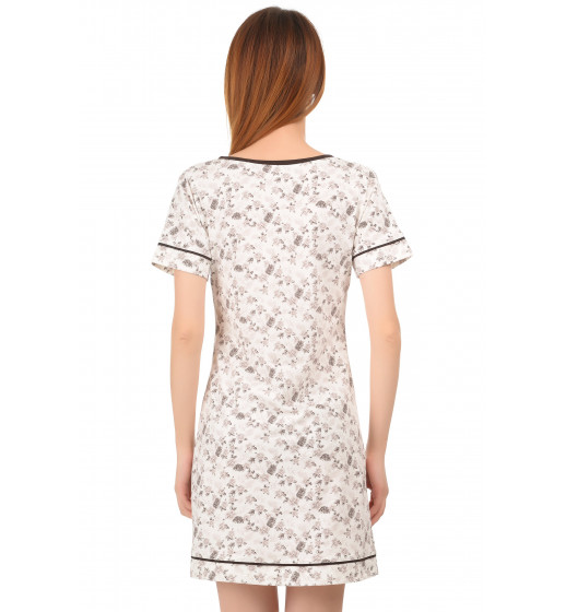 Сорочка с коротким рукавом 0187 хлопок. ❤ 0187