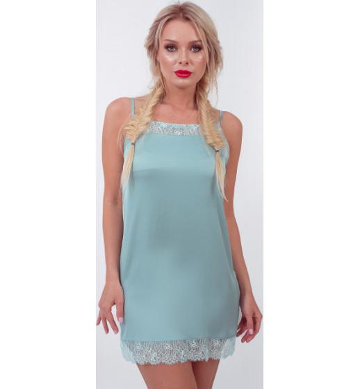 Сорочка короткая Barwa 0243 атлас. ❤ 0243