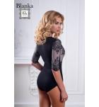 Комбидрес кружевной Easy Light Blanca черный.  ❤ Blanca