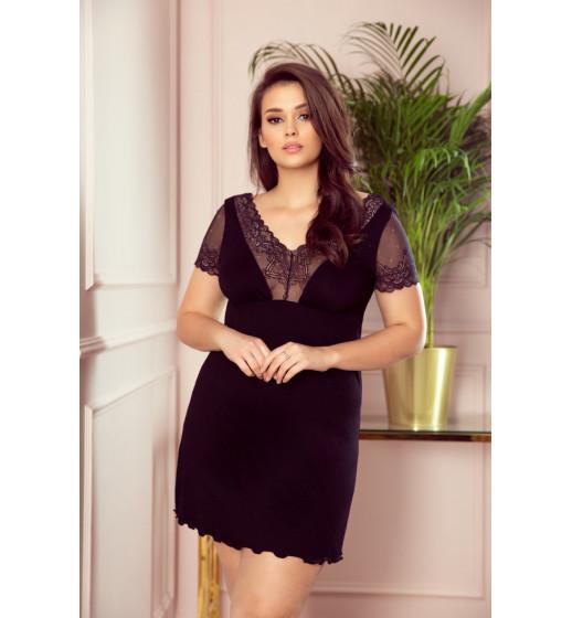 Сорочка Eldar Ismena, вискоза, чёрный. ❤ Ismena