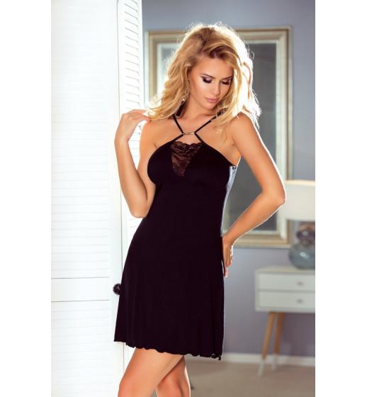 Сорочка Eldar Sue, вискоза, чёрный. ❤ Sue