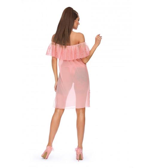 Комплект сорочка+трусики Excellent Beauty D-343+str Розовый. ❤ D-343+str Розовый.