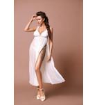 Комплект сорочка+трусики Excellent Beauty D-340+str Белый. ❤  D-340+str Белый.