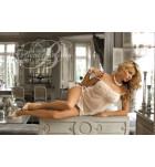 Комплект сорочка+трусики Excellent Beauty DORA D-308+str Экри. ❤  DORA D-308+str Экри