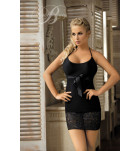 Комплект сорочка+трусики Excellent Beauty U-809 Черный. ❤ U-809 Черный.