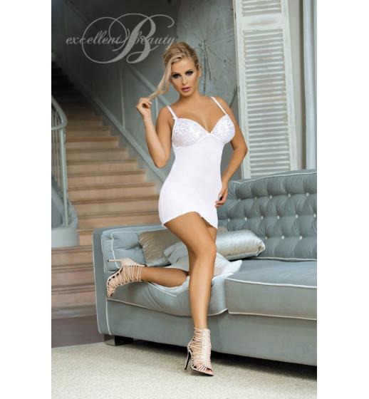 Комплект сорочка+трусики Excellent Beauty V-508 Белый. ❤  V-508 Белый.