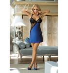 Комплект сорочка+трусики Excellent Beauty U-804 Синий. ❤ U-804 Синий.