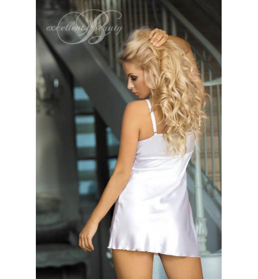 Комплект сорочка+трусики Excellent Beauty U-811 Белый. ❤  U-811 Белый.