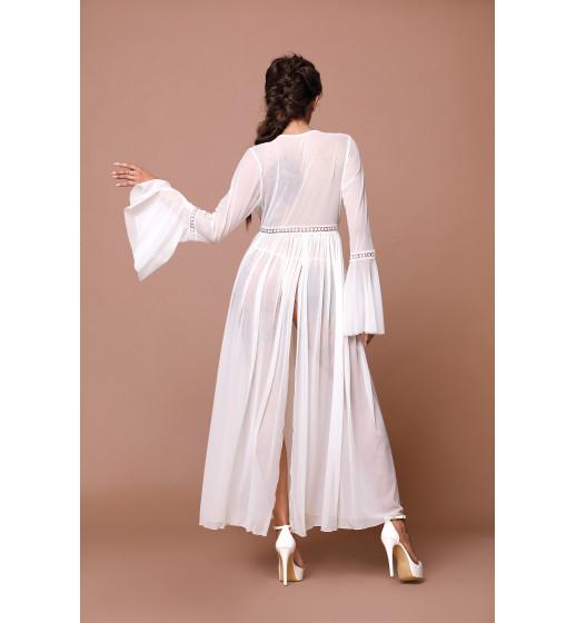 Пеньюар Excellent Beauty N-734+str Белый. ❤ N-734+str Белый.