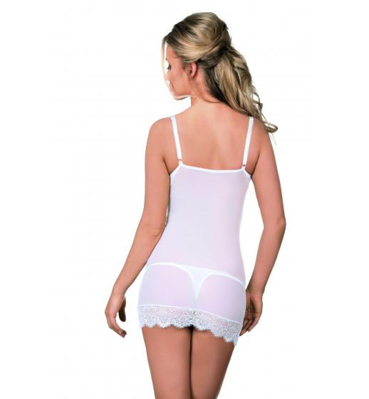 Комплект сорочка+трусики Excellent Beauty  R-621 Белый. ❤  R-621 Белый.