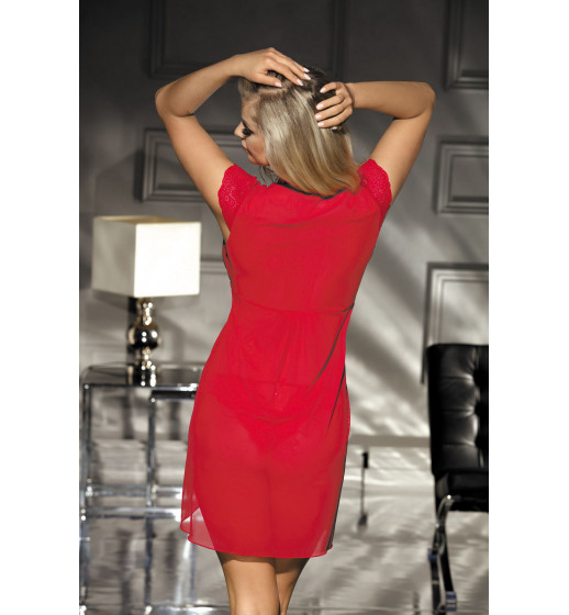 Пеньюар Excellent Beauty N-723+str Красный. ❤  N-723+str Красный.
