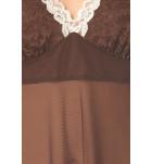 Сорочка Marsana 03-009 прозрачная сетка. ❤ 03-009
