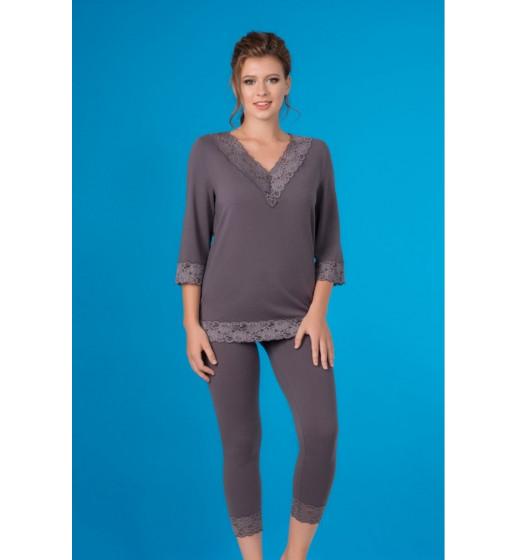 Комплект блуза+леггинсы Marsana 04-013/05-015 из хлопка. ❤ 04-013/05-015
