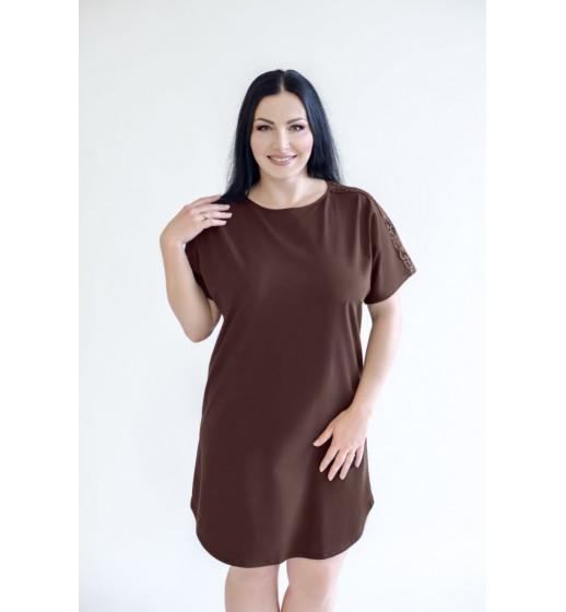 Сорочка-платье Marsana 03-060 из хлопка. ❤ 03-060