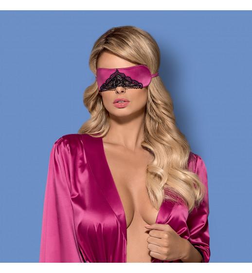 Маска Obsessive SATINIA MASK Розовый Universal. ❤ SATINIA MASK Розовый Universal