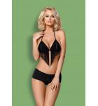 Комплект бюстгальтер+шортики Obsessive 824-SET-1 SET bra Черный. ❤ 824-SET-1 SET bra Черный