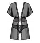 Комплект сорочка/бебидол+трусики Obsessive 868-BAB-1 BABYDOLL Черный. ❤ 868-BAB-1 BABYDOLL Черный.