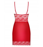 Комплект сорочка+трусики Obsessive LOVICA CHEMISE+str Красный. ❤ LOVICA CHEMISE+str Красный