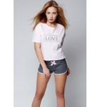 Домашний костюм (футболка/шорты) Sensis Clarisse. ❤  Clarisse.