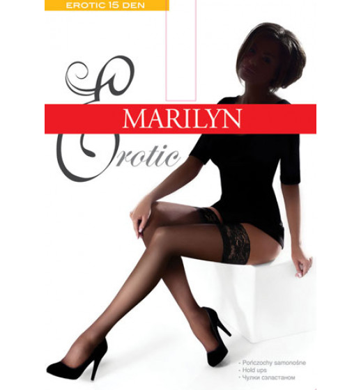 Чулки Marilyn Erotic 15 ❤ Erotic 15